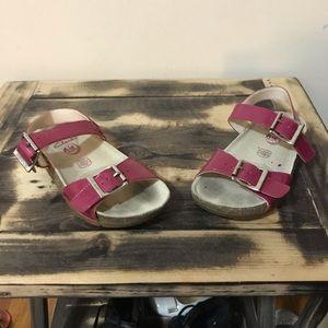Toddler girl Clark sandal